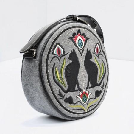 CROSS CATS: Handmade Cross-Body Bag