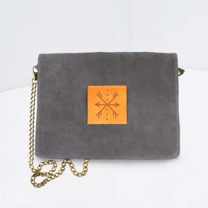 SLON: Natural Leather Clutch
