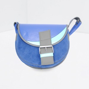 PASSION FOR COLOR: Blue Urban Saddlebag