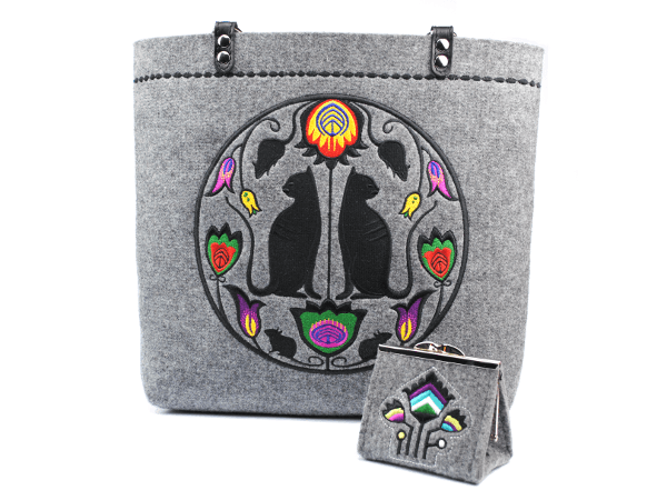 COIN: Handmade Embroidered Coin Purse