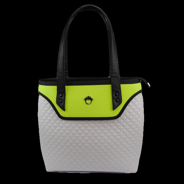 0d1890280dfd9 Little Bag Boutique FLOWERBAG  Light tote bag