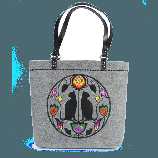 TOTE CATS: Handmade Tote Bag