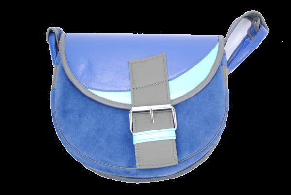 PASSION FOR COLOR: Blue Urban Saddlebag